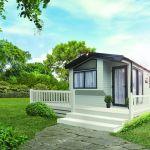 Exterior, Exterior Park Home, Park Home for rent