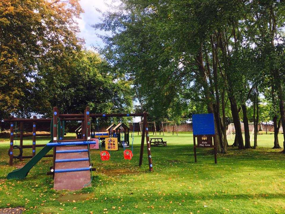 Seaton-Estate-play park, Holiday Park Home, Park Homes Scotland
